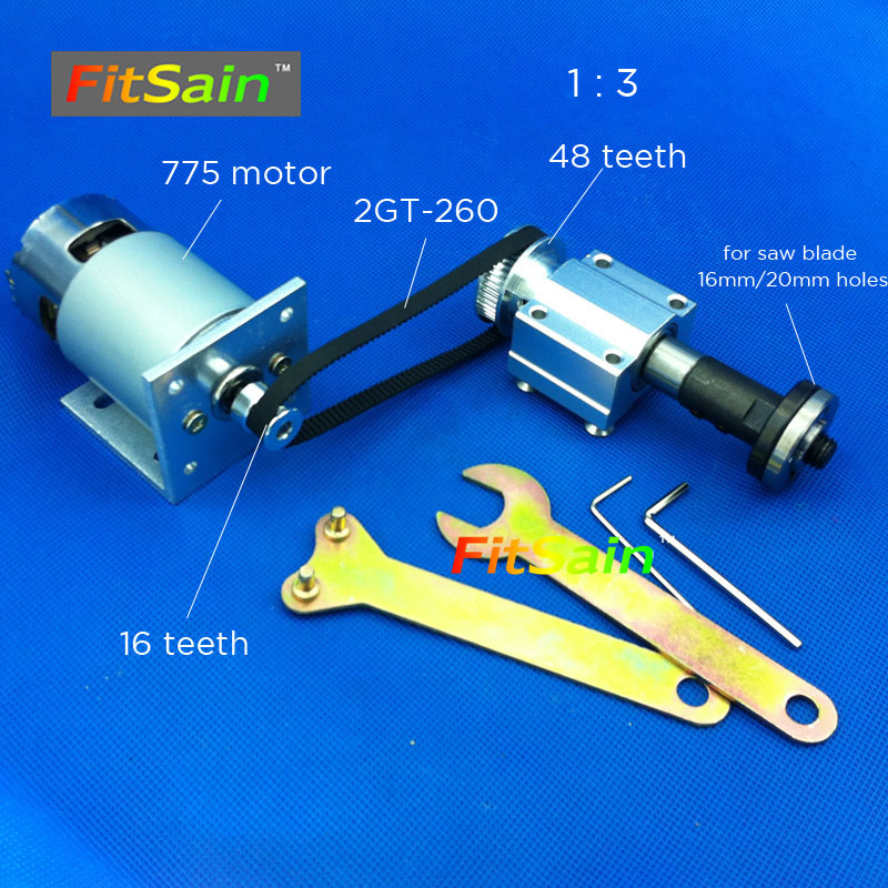 FitSain Mini table saw for 4 100mm saw blade hole 16mm 20mm spindle Cutting saws Machine