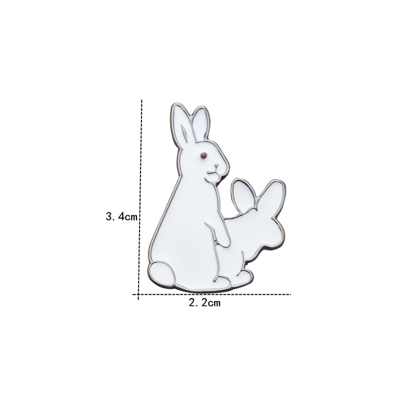 aliexpress com buy cartoon brooch do strange rabbit brooch the
