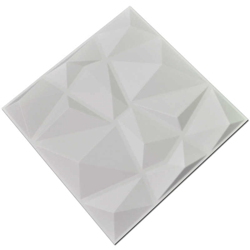 Los paneles de pared texturizados 3D del diamante 12 PC cubren 3m2 3D - Decoración del hogar - foto 3