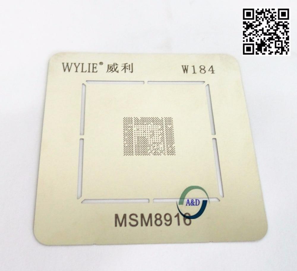 1 pcs/lot BGA Reball Pochoir pour CPU MSM8916 MSM8939 MSM8216