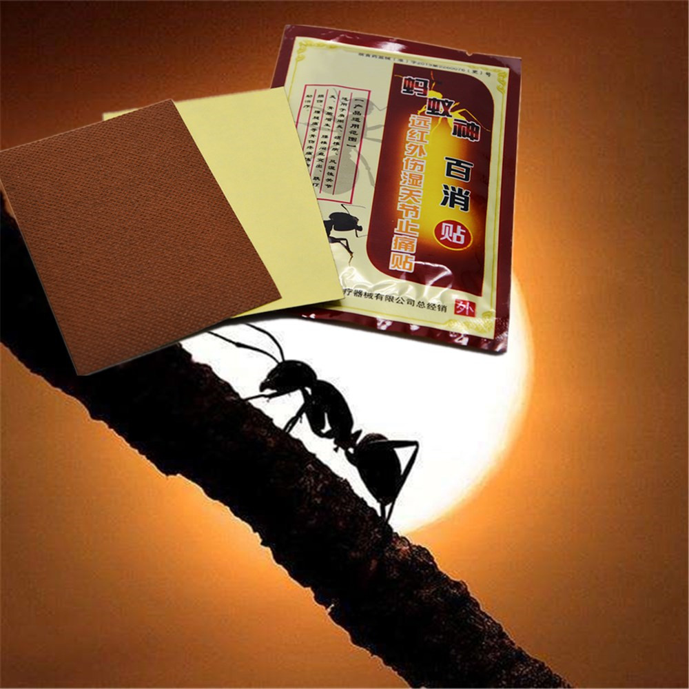 DISAAR Health Care Medical Fire ant Pain Relief Patch Chinese Traditional Herbal Essenti ...