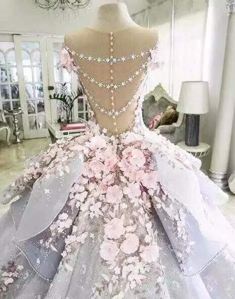 Saudi-Arabic-Evening-Dress-Gorgeous-Robe-De-Soiree-Floral-Evening-Dresses-Sleeve-Modest-Formal-Gown-3D (1)