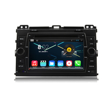 Octa-Core Android 6.0 Car Dvd Gps Navi Audio for Toyota Prado 120 2003-2009 support WIFI, Steering wheel control