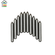 10pc/set Carbide Engraver Engraving Tips Nozzle Drill Bit For Electric Carving Pen DIY Tool Metal Wood PVC Plastic Glass Leather