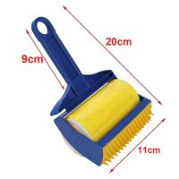 TFBC Reusable Rubber Sticky Pet Hair Remover Picker Cleaner Roller Brush