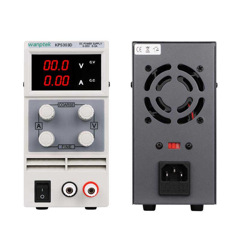 スイッチング調整可能なラボ電源実験室 30v 10A 5A 3A ソース 3010D 30 V ユニット電圧レギュレータ 220 v 110 用電話