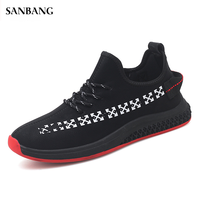 Shoes Men Tennis Shoes for Men Air Mesh Cushion Sneakers Outdoor Breathable Comfort Athletic Sports Shoes Mens Trainers 4