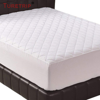 Turetrip Quilt Cotton Waterproof Mattress Pad Cover Fitted Sheet Mattress Protector Colchao Waterproof Mattress Topper Cover