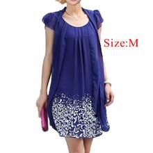 tropical print dress women Dress casual rodado chiffon dresses fashion Summer new women's clothing pretty Clothes Vestido