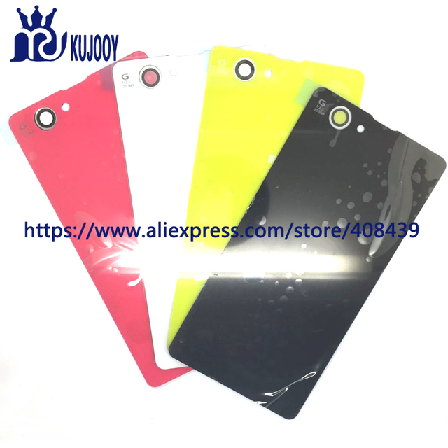 10pcs Rear Z1 Mini Battery Back Cover For Sony Xperia Z1 Compact Mini D5503 M51w Battery Door Back Case Housing