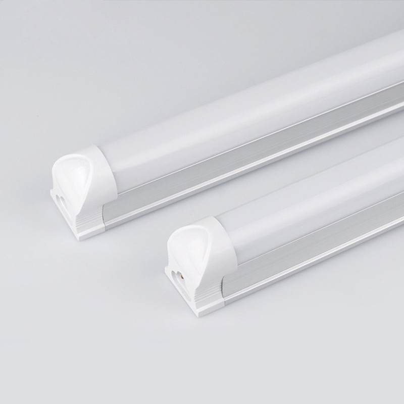 DZ20 LED Light Tube T8 LED Tube 600mm 2ft LED Integrated Tube 10W LED Light 220V 240V SMD2835 Clear/Milky Cover 10 50 meters pack 1m per piece led aluminum profile slim 1m with milky diffuse or clear cover for led strips