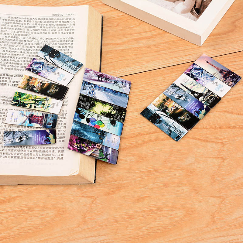 6 pcs/lot Cute Kawaii Flower Paper Bookmarks Vintage Eiffel Tower Magnetic Book Mark School Supplies Student 24426 pcs/lot Cute Kawaii Flower Paper Bookmarks Vintage Eiffel Tower Magnetic Book Mark School Supplies Student 2442