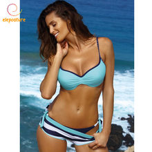 f89b5dc05e 2019 Sexy Bikini Set Three Piece Swimsuit Women Push Up Swimwear Brazilian Bathing  Suit Beachwear Swimming Suit For Women Bikini
