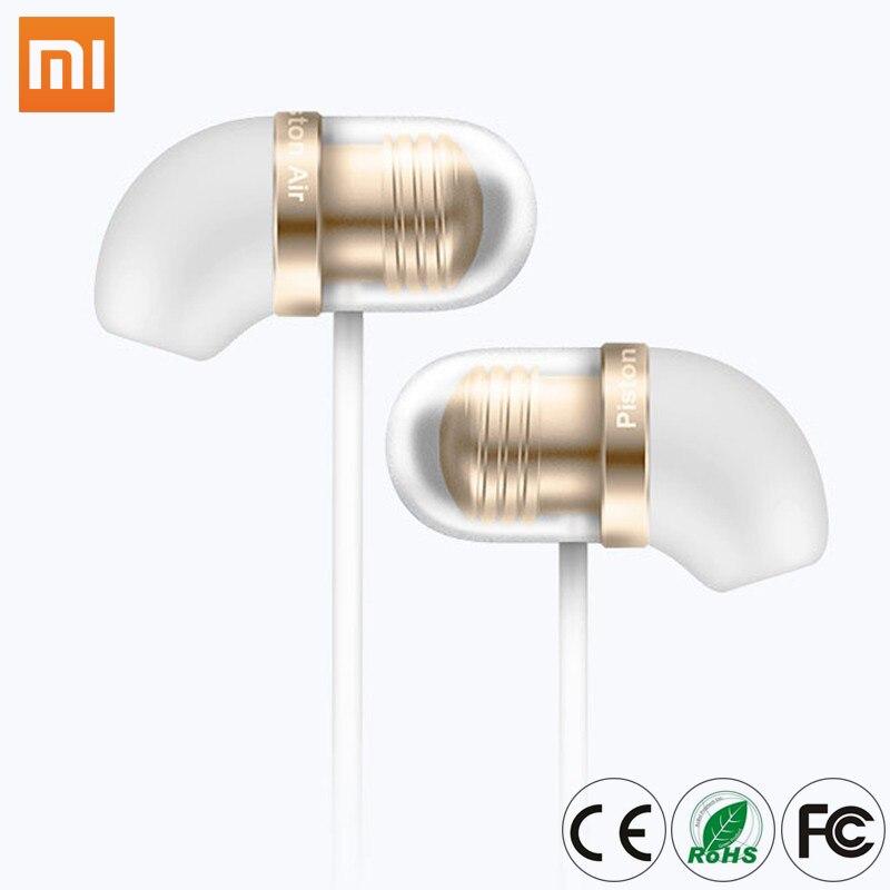 Lot de 2 pièces Mi Capsule ecouteur Original Mi Piston Air in-ear Portable ecouteurs Silicone bouchons d'oreilles w Microphone Android MP3