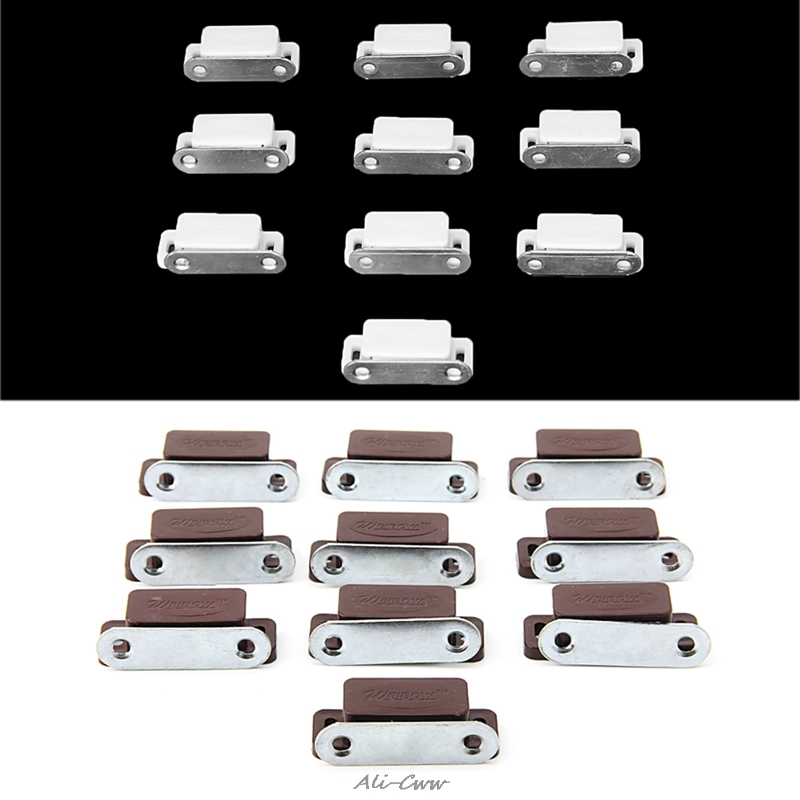 Fashion 10Pcs Small Magnetic Door Catches Kitchen Cupboard Wardrobe Cabinet Latch CatchFashion 10Pcs Small Magnetic Door Catches Kitchen Cupboard Wardrobe Cabinet Latch Catch