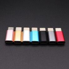 50pcs Type C om mi cro usb ADAPTER Voor xiao Mi mi a1 5x A2 8 voor HUAWEI honor 9 8 V9 voor Samsung S8 S9 Plus Type C USBC Kabel