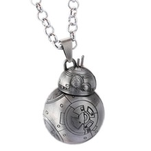 MS Jewelry Star Wars Choker Necklace BB8 Pendant Men Women Gift Movie Accessories