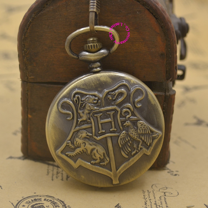 Popular Harry Potter Pocket Watch-Buy Cheap Harry Potter
