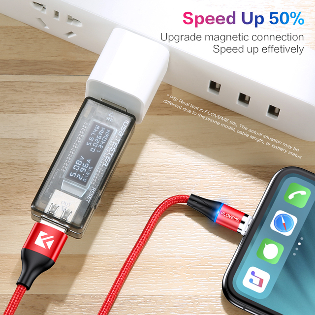 FLOVEME Magnetic Charger Micro Usb Cable For iphone Usb Type C Fast Charging Adapter Magnet Charger Wire For Samsung Xiaomi Cord 3