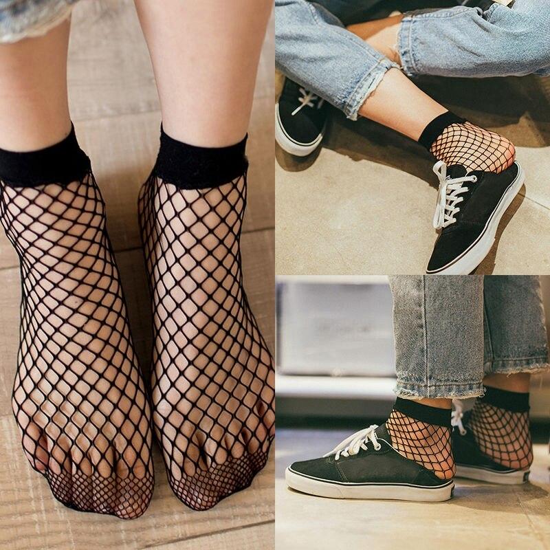 Vintage Retro Women Lace Ruffle Frilly Ankle Sock Cotton Socks Ladies Cute Sock
