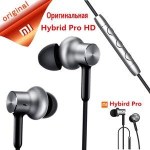 Original Xiaomi Mi Hybrid Pro HD Music HiFi Earphone Triple Driver   Mi In-Ear Pro HD   Circle Iron Pro Mic Earphones headset