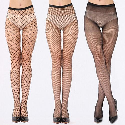Hollow Out Sexy Women Fishnet Pantyhose Punk Stockings Stretchy Tights Calcetines Female Mesh Hosiery Drop Shipping