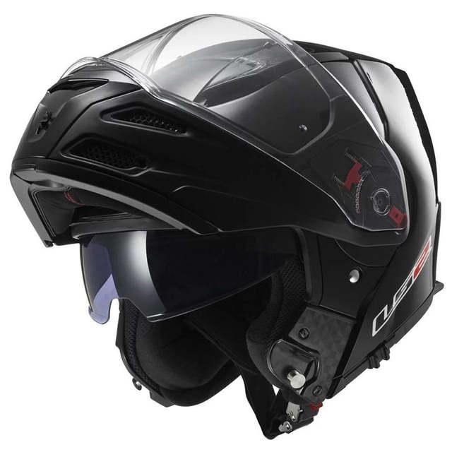 Full Face Cruiser Helmets >> Ls2 Metro Ff324 Motorcycle Helmets Modular Full Face Flip Up Cruiser