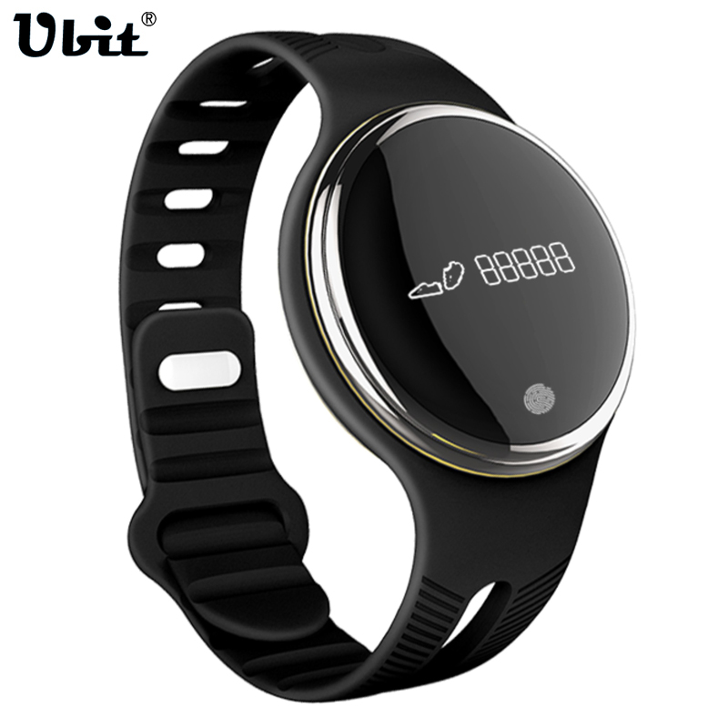 Ubit Smart Watch Wristwatch IP67 Waterproof Tracker Fitness Cycling Record Colck Watches for iPhone Android E07