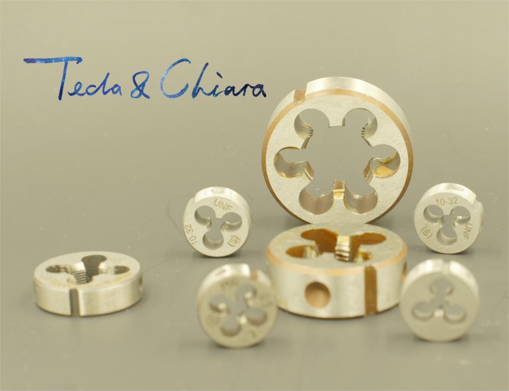 1Pc M3.5 M4 M4.5 M5 X 0.35mm 0.5mm 0.6mm 0.7mm 0.8mm Metric Right Hand Die Threading Tools Mold Machining * 0.35 0.5 0.6 0.7 0.8