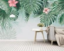 Купить с кэшбэком Beibehang Custom photo wallpaper Southeast Asian Rainforest Wall landscape tv background wall papel de parede wallpaper 3d