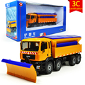 KAIDIWEI Snowplow Winter Service Vehicle Engineering Vehicle 1:50 Scale  Diecast Alloy Metal Car Model Toy