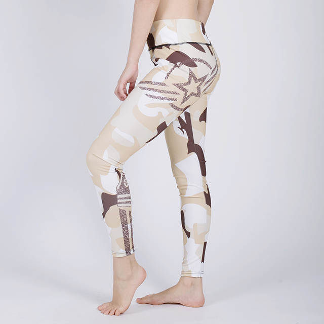 3573902cc8c5b New Camouflage Pants Women Sexy Fitness Leggings Army Trousers Stretch  Legging For Girls Graffiti Style Athleisure Leggings