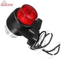 2 шт. 8 светодиодов автомобильный Грузовик задний фонарь для парковки предупреждающие огни стоп-сигнал тормозные лампы двойные стороны маркер прицеп огни 10-24 В
