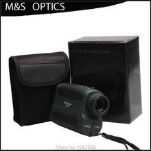 Wholesale prices Original product 10×25 Rangefinder 5-700m Laser Range Finder Monoculars Optical Sight for Hunting