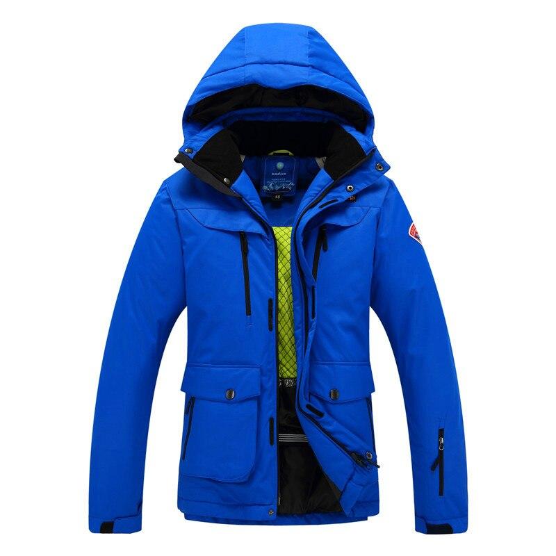 Quality Men's Ski Jacket Snowboarding Warm Skiing Jacket Windproof And Waterproof Outdoor Mountaineering Hiking Skiing Coat