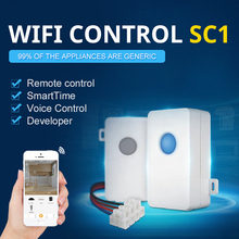 2pcs Broadlink SC1 Wifi Controller Sensible Dwelling Automation Modules IOS Android Telephone APP Wi-fi Distant Managed Swap100-250V