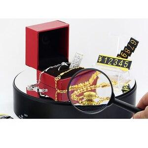ABS الكهربائية الدورية الدوار عرض موقف البضائع قاعدة عرض للعرض مجوهرات الرقمية المنتج ووتش الأسود