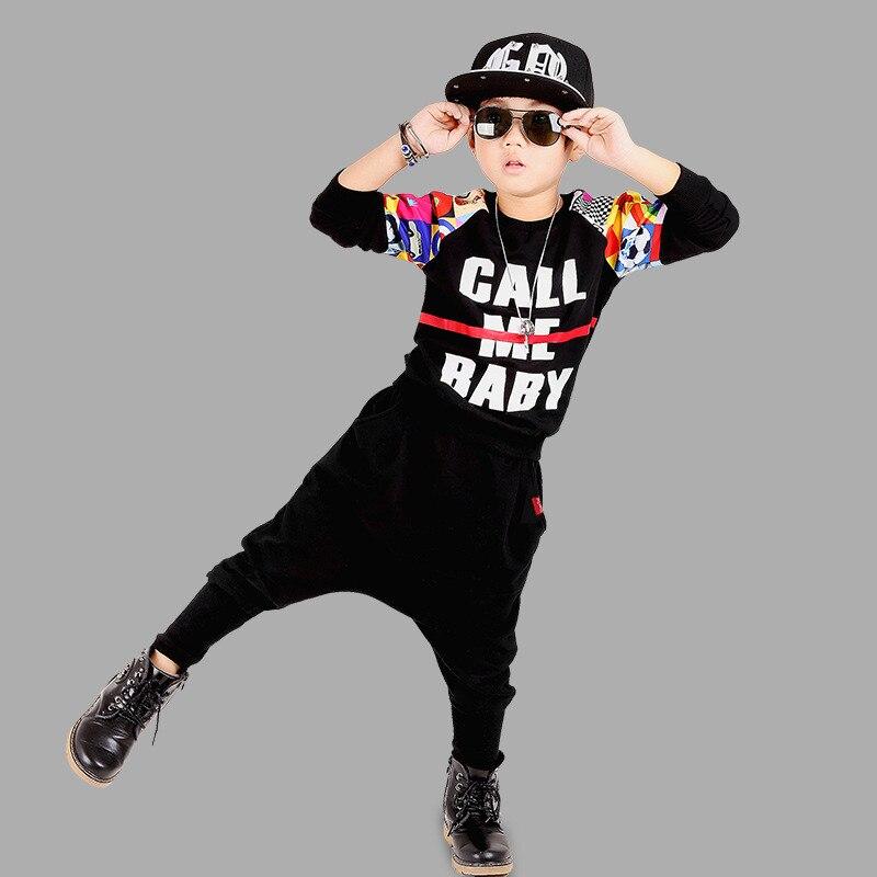 Yüksək keyfiyyətli 2017 payız-qış moda idman məktubu çap - Uşaq geyimləri - Fotoqrafiya 4