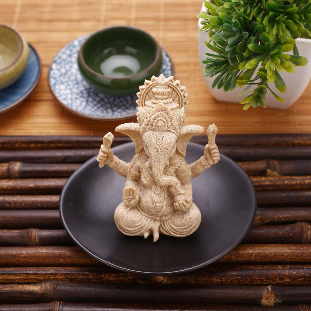 Sandstone Ganesha Statue 4