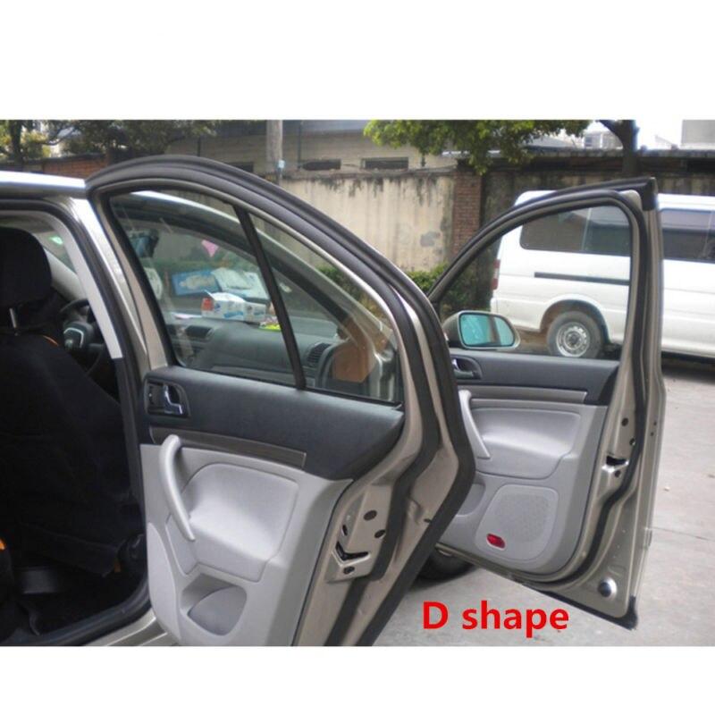 Car Door Window Trim Edge Moulding Rubber Weatherstrip Seal Strip 6M Big D Shape