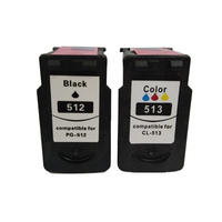 PG 512 CL 513 Ink Cartridge PG512 CL513 PG 512 For Canon Pixma MP240 MP250 MP270 MP230 MP480 MX350 IP2700