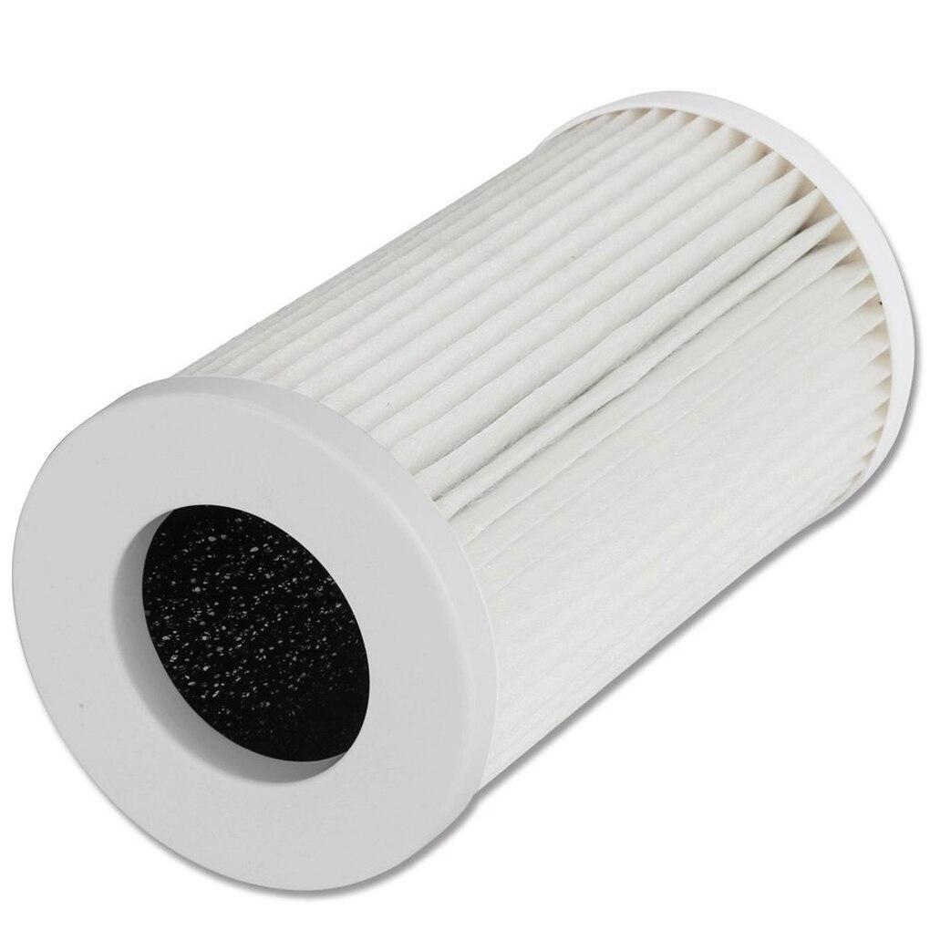 Air Purifier With HEPA Filter Mesh Screen Desktop Oscillating Triple Purification Negative Oxygen Ion Allergen Aromatherapy