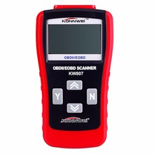 New Portable Car Diagnostic Scanner Tool Trouble Code Reader KW807 OBD II 2 Auto Fault Code Scanner Diagnostic Repairing