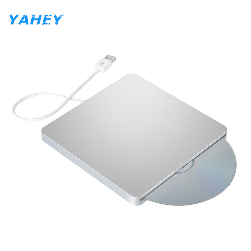 USB 3.0 Slot Load Drive External DVD Player CD/DVD RW Burner Writer Recorder Superdrive for Apple Macbook Pro Air iMAC Laptop pc