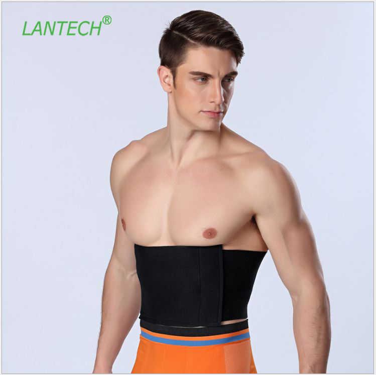 b357a7b9f3f LANTECH Men Waist Trainer Steel Bone Vest Body Shaper Tummy Tuck Belt  Weight Loss Corset Belly