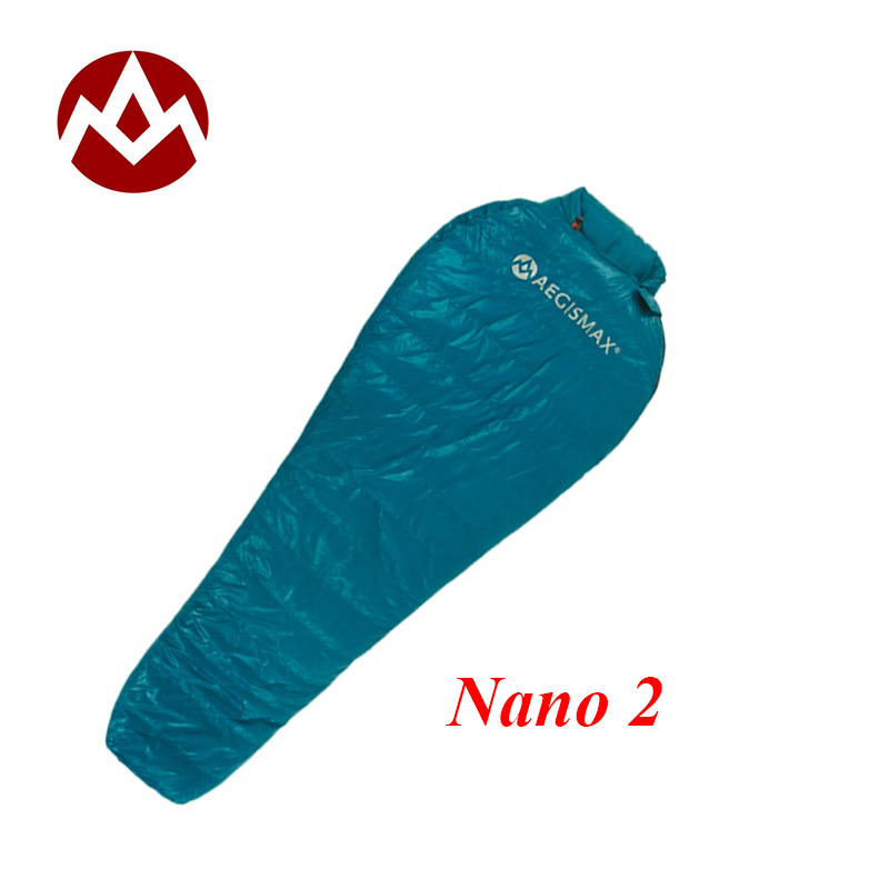 huge selection of a66bb 79799 US $93.1 30% OFF|Aegismax new arriveal Nano 2/ Nano 2 Long goose down  spring/ autumn sleeping bag-in Sleeping Bags from Sports & Entertainment on  ...