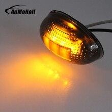 AuMoHall 1 шт. розничная продажа Автомобильный габаритный фонарь для прицепы грузовик светодио дный светодиодные лампы боковые габаритные огни