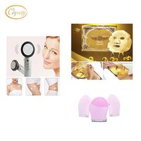 Mini RF LED Body Slimming Massage Radio Frequenc 1 Pc Soft Silicone Facial Brush Cleanser 1pc