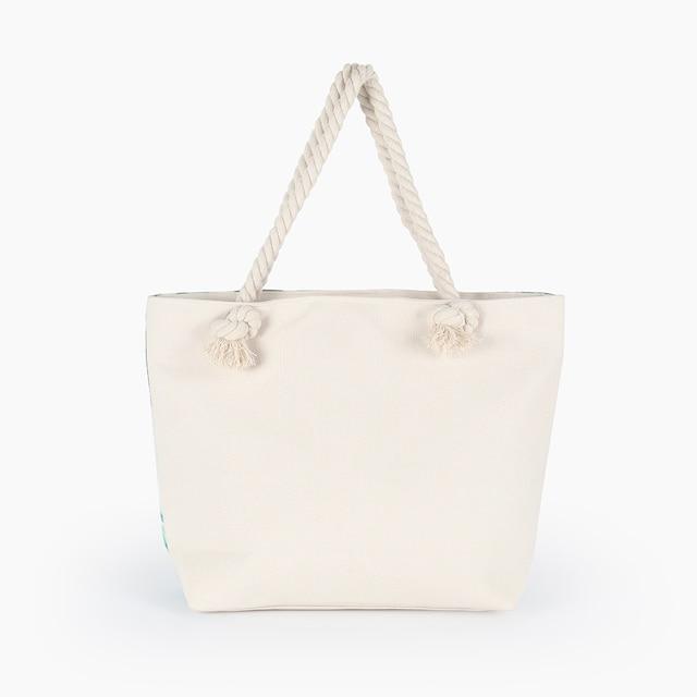Hot Sale Flamingo Printed Casual Bag Women Canvas Beach Bags High Quality Female Single Shoulder Handbags Ladies Tote BB196 6