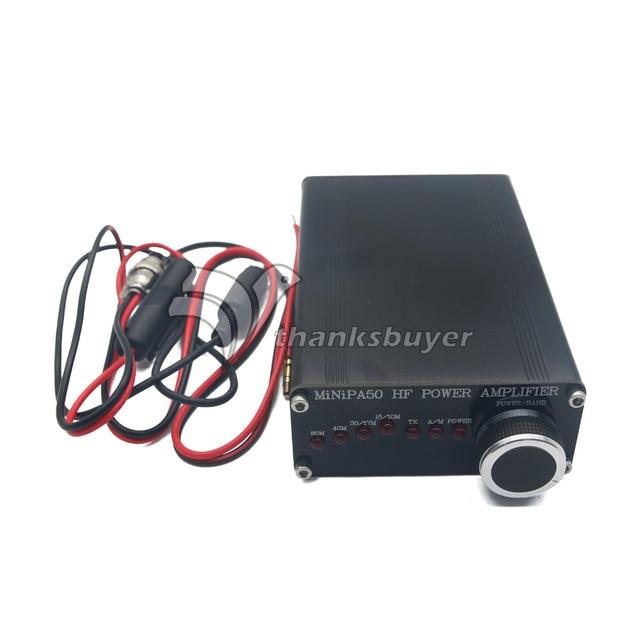 ВЧ усилитель мощности для yaseu футо-817 ICOM IC-703 elecraft KX3 QRP радиолюбителей MINIPA50